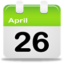 date, Calendar, Schedule YellowGreen icon
