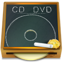 lecteur, Dvd, Cd, save, Disk, disc DarkSlateGray icon
