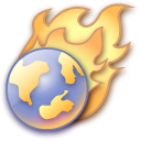 Firefox, Browser SaddleBrown icon