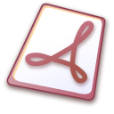 File, document, Pdf, paper Black icon