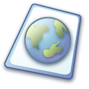 html, paper, File, document MidnightBlue icon