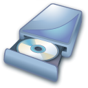 Cd, Disk, disc, Dvd, save DarkSlateGray icon