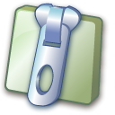 Zip, File, document, paper DarkSlateGray icon