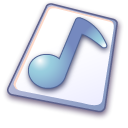 paper, File, document, wave MidnightBlue icon
