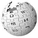 planet, wikipedia, world, globe, earth Black icon