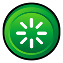 restart, Badge, window ForestGreen icon