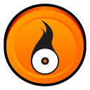 roxio, media, Easy, Creator, Badge DarkOrange icon