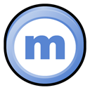 Badge, Mininova CornflowerBlue icon