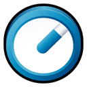 Badge, quicktime Black icon