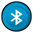 Bluetooth, Badge LightSeaGreen icon
