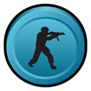 scene, Strike, deleted, Badge, Counter SteelBlue icon