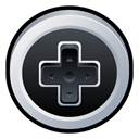 nintendo, Badge, n Black icon