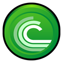 Badge, Bittorrent, Bt ForestGreen icon