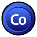 adobe, Badge, Cs, Contribute RoyalBlue icon