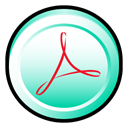 Cs, distiller, adobe, Acrobat, Badge Icon