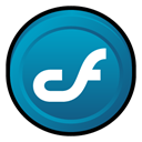 macromedia, Coldfusion, Badge DarkCyan icon