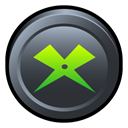 media, player, Badge, xion DarkSlateGray icon