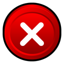Badge, program, no, cancel, Close, stop, window Red icon