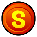 Shareaza, Badge OrangeRed icon