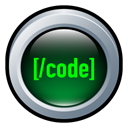 Badge, web, Coding Black icon