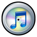 itunes, Badge Black icon