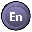 adobe, Cs, Badge, encoredvd DimGray icon