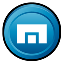 maxthon, Badge Black icon