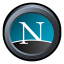 Badge, Netscape, Navigator DarkSlateGray icon