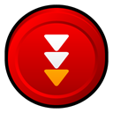 Badge, Flashget Red icon