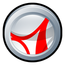 adobe, reader, Cs, Badge, Acrobat Black icon