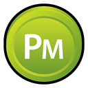 adobe, Badge, Cs, pagemaker YellowGreen icon