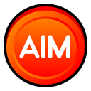 Aim, Badge OrangeRed icon