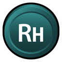 adobe, robohelp, Badge, Cs DarkSlateGray icon