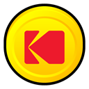 share, kodak, Badge, Easy Gold icon
