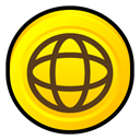Norton, internet, Badge, security Gold icon