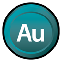 Badge, adobe, Cs, Audition DarkCyan icon