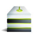Allum, storage, network, Server, vert Black icon
