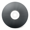 save, noir, disc, Disk, Cd DarkSlateGray icon