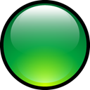 Ball, green, Aqua LimeGreen icon