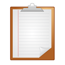 Clipboard, Note WhiteSmoke icon