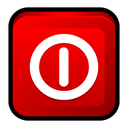 off, window, turn Red icon