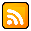 Rss, feed, Newsfeed, subscribe Orange icon