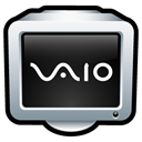 central, support, vaio Black icon
