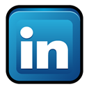 Linkedin, linked, In LightSeaGreen icon