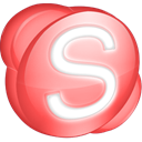 red, Skype Icon