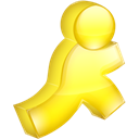 yellow, Aim Black icon