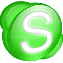 green, Skype Icon
