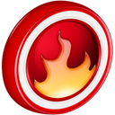 startsmart, nero DarkRed icon