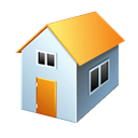 homepage, Home, house, Building Black icon