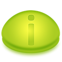 Info, Information, about YellowGreen icon